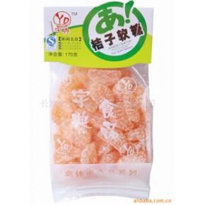 零食 休闲食品 桔子软糖 湖南特产长沙熟食