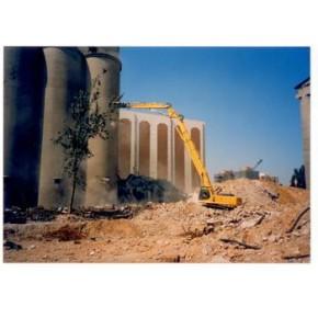 建湖粮仓拆除、砖烟囱拆除、砼烟囱拆除找江苏三里港高空