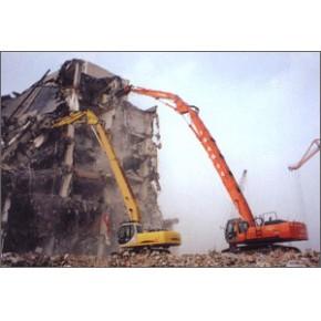 专业承接敲墙、酒店拆旧、厂房拆除、钢结构拆除