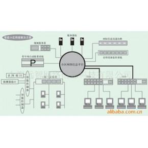 承接弱电综合布线工程,交换机通信工程及网络监控工程