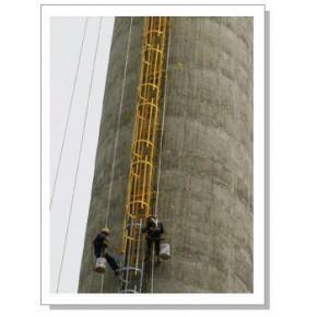 柳州50米烟囱维修施工方案