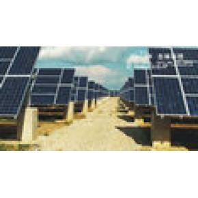 古林太阳能单轴纬度跟踪支架系统2x