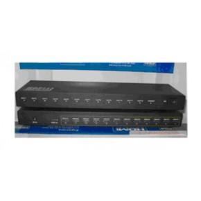 仝丽HDP112 一进十二出 高清HDMI分配器 hdmi视频分配器 支持3D