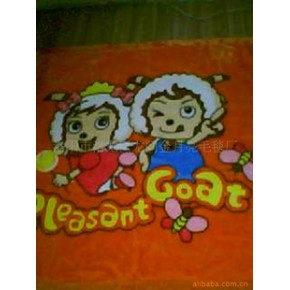 100%涤纶毛毯  童毯