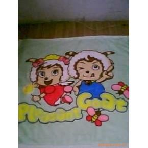 100%涤纶毛毯  童毯 毯子