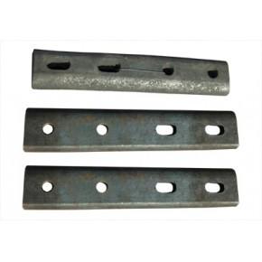 河北伟基专业生产接头夹板、斜接头夹板、铁路夹板