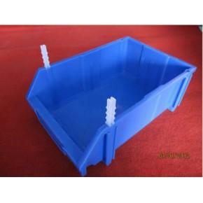 烟台塑料电子零件盒、斜口零件盒、插柱零件盒、价格