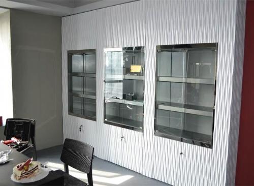 厦门展示柜厂家烤漆展示柜木质展示柜展示柜生产设计