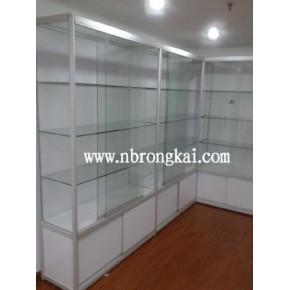 宁波铝合金展示柜 企业样品展示柜 免费设计 上门安装