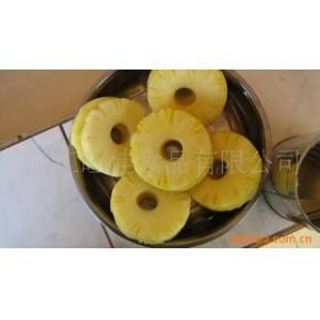 菠萝圆片罐头 水果罐头 广东