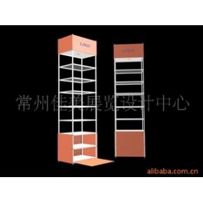 便携式展示柜 轻便式展架 实木展架
