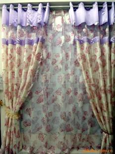 窗帘布艺 图 透明型 英式田园风格