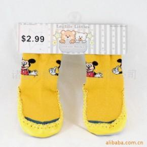 批发供应皮底袜 学步袜 地板袜 宝宝地板