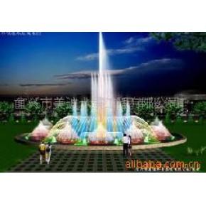 音乐喷泉,激光水幕电影,旱地喷泉,百米喷泉