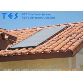 优质 欧式平板太阳能热水器CE SolarKeymak