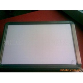 磁性无尘加厚加宽边框暗格板,磁性环保白板