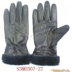 女士意大利进口羊皮保暖手套 S3M0307-27