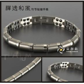 深圳钛首饰生产厂家,批发钛手链,钛吊坠