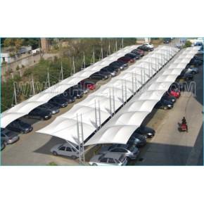 北京膜结构小车停车棚
