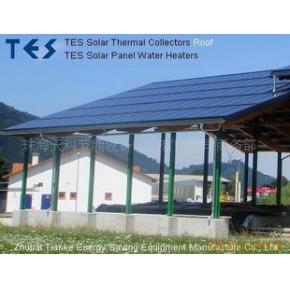 优质 诚接分体承压太阳能热水器工程项目