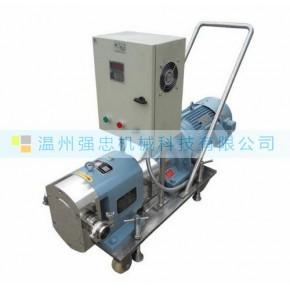 移动式凸轮转子泵