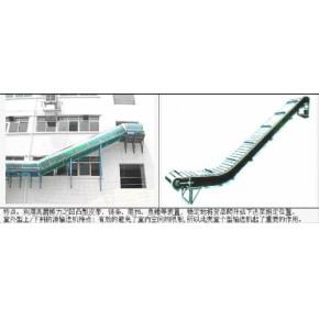 广州番禺爬坡式皮带输送线