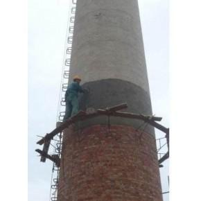 砖烟囱加固维修加箍加固 烟囱维修在线