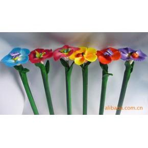 软陶笔自然界真花制作梅花,色彩鲜艳永不退色,中性笔