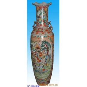 陶瓷花瓶 彩瓷花瓶 潮州花瓶