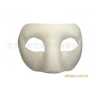 纸制脸谱(佐罗) 纸浆 白色