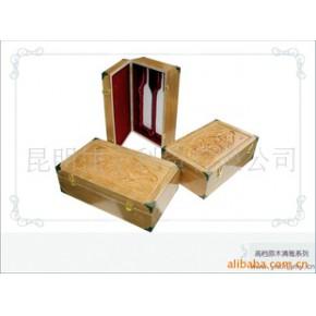 精美的雕刻,体现红酒的供应红酒木盒,酒盒,竹.木盒