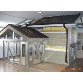 金属瓦结构房 轻钢结构房屋