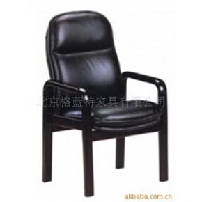 会客椅/实木会议椅/实木框架面料会议椅