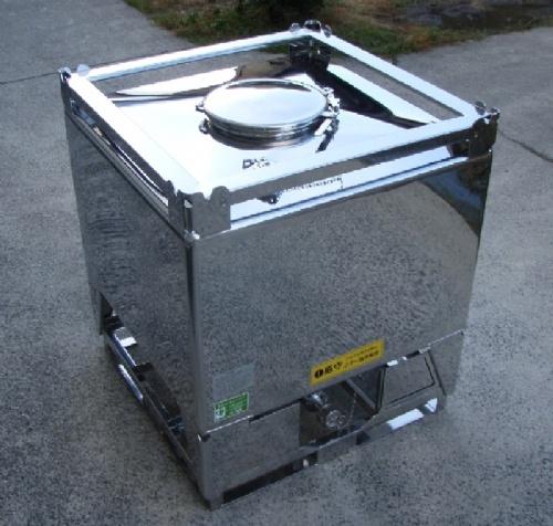 【不锈钢ibc集装桶 不锈钢储藏罐