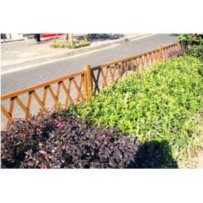 上海户外仿木金属建材氟碳水印木纹铝材草坪护栏13