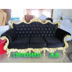 桂林雕花欧式沙发