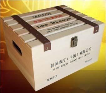 木制红酒包装箱