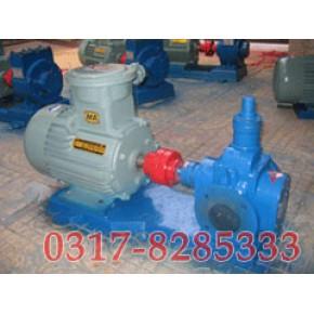 YCB圆弧齿轮泵,YCB圆弧泵,圆弧泵