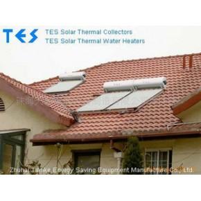 优质 欧式平板太阳能热水器 CE ROHS