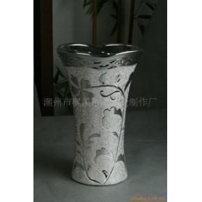 陶瓷花插 巴诺克 花盆