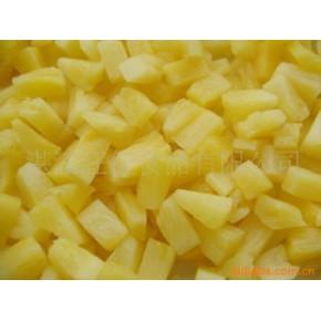 菠萝小扇块罐头(图) 广东