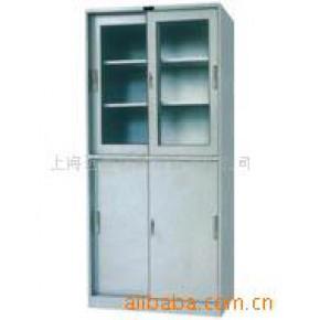 上玻下铁移门柜、更衣柜、文件柜、电动密集架