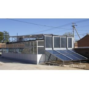 北京福达阳光太阳能热水工程