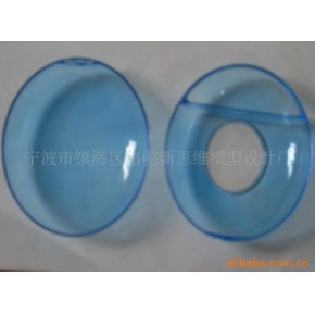 透明手板模型 塑胶 CNC手板