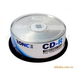 RONC CD-R10片桶装空白刻录碟片