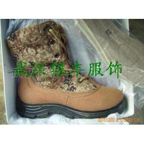 批发供应荒漠迷彩防寒鞋 3515