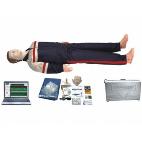 电脑高级心肺复苏模拟人 医学模型 急救模型