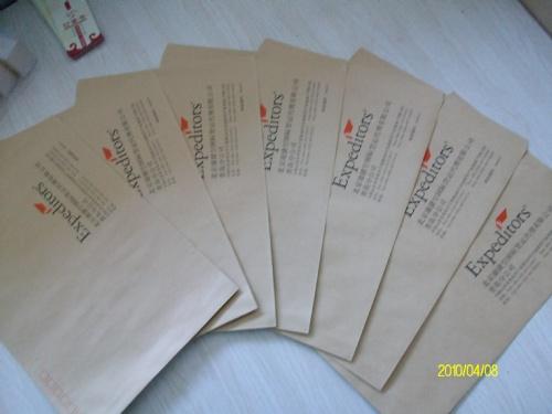 信封 不同的纸张克重、纹路、颜色、工艺的差别很大,需确定具体材质来定价格 价格:  0.5-3.5元/个