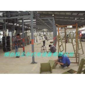 油井设备配件喷漆线