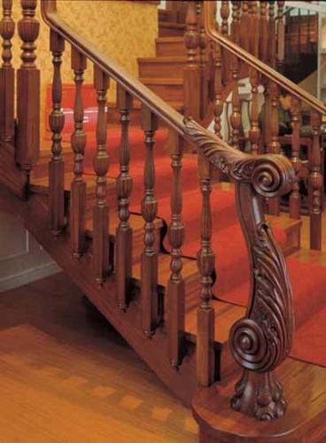 松江别墅楼梯|豪华别墅楼梯|松江楼梯踏板
